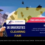 UK Universities Clearing Fair